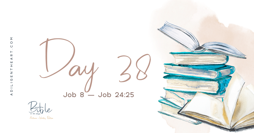 Day 38: Read The Bible In 90 Days