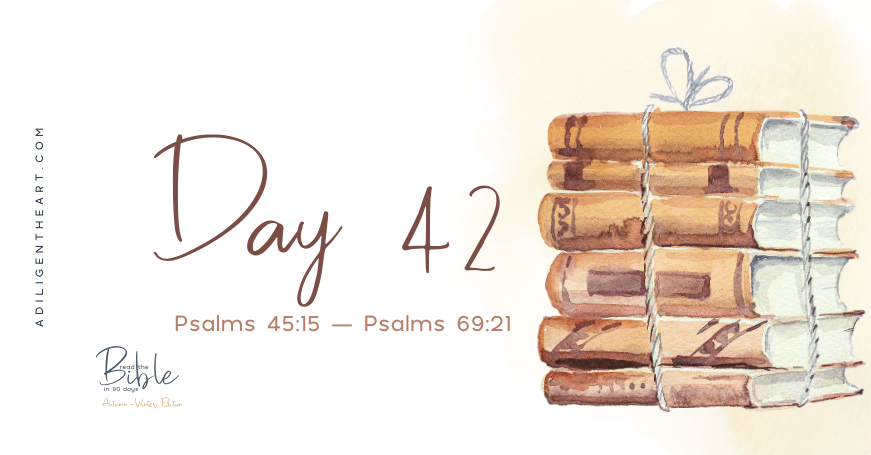 Day 42: Read The Bible In 90 Days