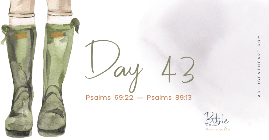 Day 43: Read The Bible In 90 Days