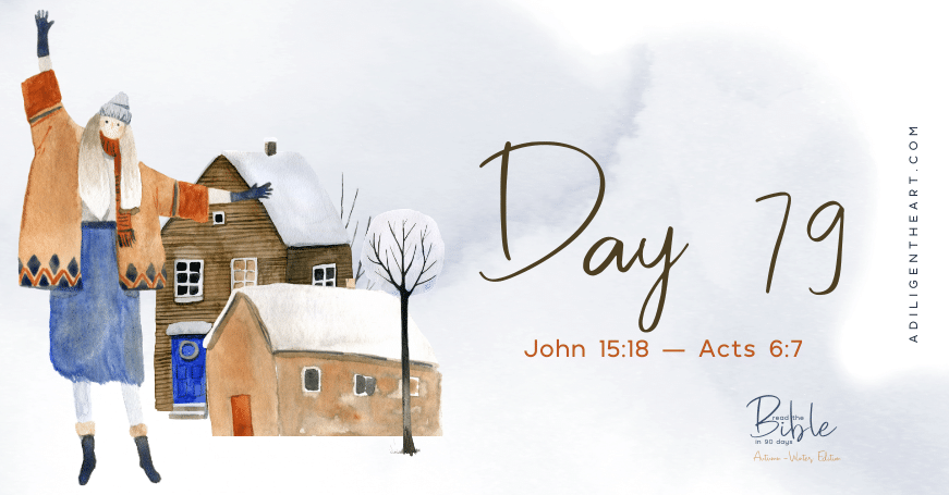 Day 79: Read The Bible In 90 Days